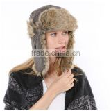 Wholesale high quality fashion winter knitted wool hat for men,custom knitted felt hat cheap goods from china