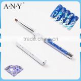 ANY UV Gel Nails Building Design Rhinestone Acrylic and Gel Nails Brush