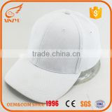 wholesale white blank white baseball cap your own design cottom led light baseball cap bulk plain                                                                         Quality Choice