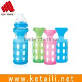 Glass Baby Feeding Bottle Cover/Bottle Sleeve Silicone Cover Protect