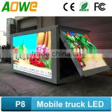Direct factory LED truck display /mobile screen LED trailer screen /led video food advertising trailer                                                                                                         Supplier's Choice