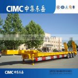 CIMC 3 Axle 60tons Lowboy Low Bed Semi Trailer                                                                                                         Supplier's Choice