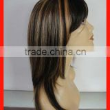 Natural Hair Wig Hair Wigs Keratin Hair Fibers High Quality Reasonable Price Accept Sample Order