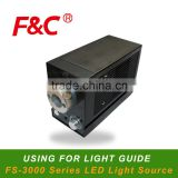 FS-3000 LED Light source, Suitable For All Guide light Optic Fiber, Can Customize Fiber Goods.
