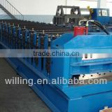 Trapezoidal sheet Metal Roofing tile forming Machine Trapezoidal Roof&Wall Sheet Steel Cold Roll Forming Machine Roll Former
