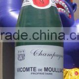 giant inflatable champagne bottle