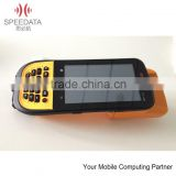 China 6 years factory of RFID reader 134.2khz -- handheld RFID reader gsm barcode scanner