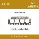 AOSHENG High quality,factory selling,high quality engine cylinder head gaskets with OEM:61-31060-00 auto spare part