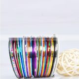 30 colors Multicolor Nails Striping Tape Line DIY Nail Art Tips Decoration Sticker
