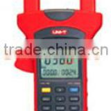 Power and Harmonics Analysis Clamp Meter, Power Quality Analyzer, 3-Phase, True RMS, USB, UT242