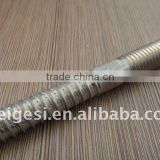 hanger bolt with wooden and machine thread hex index zinc plated