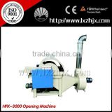 HFK-3000 Non woven stiff wadding thermo bonded wadding opening machine