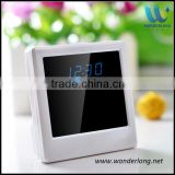 Multi-function video recording 1080p fhd wifi alarm clock camera clock with camera wifi