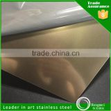 Products From China 0.3-3Mm Thick Cold Rolled 201 Sand Blast Color Stainless Steel Plate