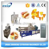 Twin screw puff core filling snack food extruder processing/production line/making machine
