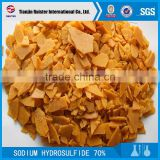leather tanning chemicals sodium hydrosulfide nahs flakes 60%