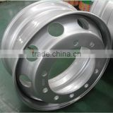China Truck Trailer Tubeless 12R22.5 Steel Rims