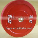 Black Rubber Bumper Weight Plates for weight room,Crossfit Bumper Plates