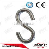 high quality chrome matel single hanger/silver color s hook