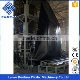 HDPE LDPE LLDPE blown type geomembrane liner making machine