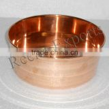 Pedicure and Manicure Bowl made of Solid COPPER