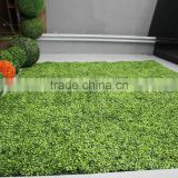2015 high quality plant artificial green wall factory direct sale fake grass plant wall