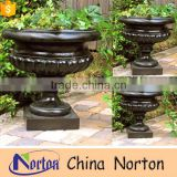 high quality best price garden bronze flower pot NTBF-FL143S