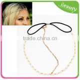 Women Chain Pearl Hair Jewelry
