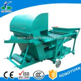 Separate grain husk seed cleaning screens machine