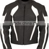 Fully grain Leather Motorbike Jacket