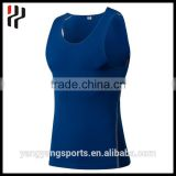 OEM Brand Logo Spandex Soft Stretch Cotton Special Style Shape Running Singlet Custom Mens Tank Top Gym