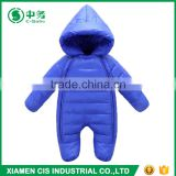 High Quality Baby Winter Clothes Set Cotton Padded Boys and Girl Blank Romper