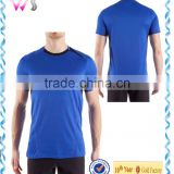 Men's high quality short sleeve round neck plain Basketball Wear blank t-shirts