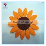china factory die cut handmade felt flower for sale