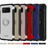 Phone cases for samsung s8 2 in 1 Magnetic car Holder Phone Cases for samsung galaxy s8 plus
