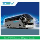price list of 75 seats buses China luxury bus for sale ZEV AUTO