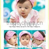 chiffon flower baby headband,baby hair accessories in stock