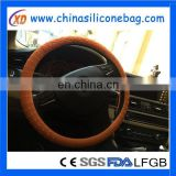 silicone car steering wheel cover/neoprene steering wheel cover