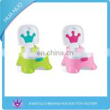 High quality baby plastic closestool chair