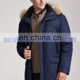 down jacket russian winter cotton padded jacket with hood latest fashion blue men winter jacket coat