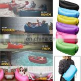 Fast Inflatable Sofa Sleeping Bag Outdoor Air Sleep Sofa Couch Portable Furniture Sleeping Hangout Lounger Inflate Air Bed F842