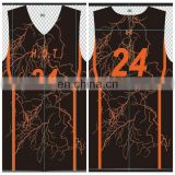 Custom Sublimated College Basketball Uniforms Designs 2017