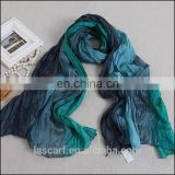 colofurl hand painted cheap silk paj scarf