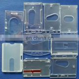 China wholeseller clear plastic ID card case