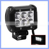 4 inch Truck Motorcycle Boat Tractor 18W LED Work Light Bar Flood Spot Light