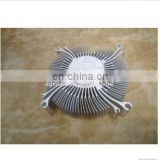 Dongguan Custom anodized treatment aluminum extruded precision industrial machine cooling plated heat sink