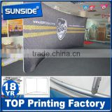 Tension fabric display,portable trade show wall,custom backdrop display D-0624
