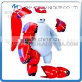 Mini Qute America European hot assemble cartoon model big hero 6 baymax action figures kids collection educational toys NO.BH007