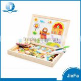 Babys Creative Tangram Educational Erasable Magnetic Drawing Board                                                                         Quality Choice