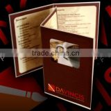 promotional paper brochure,manual,catalogue,booklet for advertising